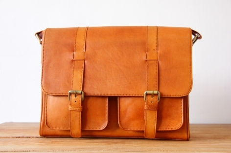 postman leather